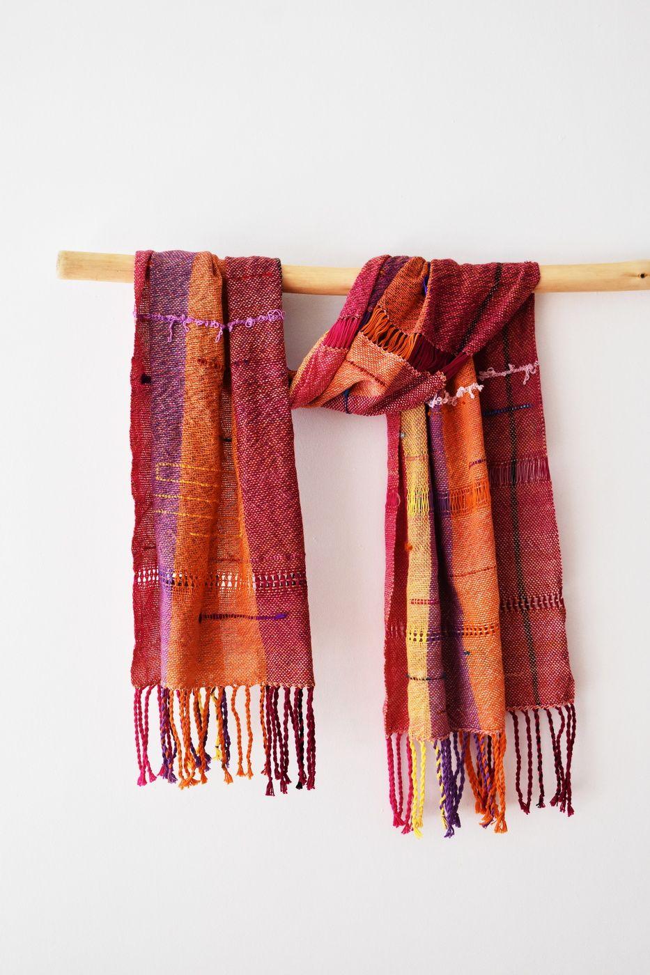 Cotton handwoven shawl