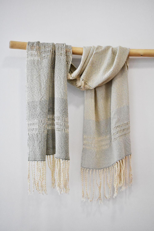 silk and cotton shawl