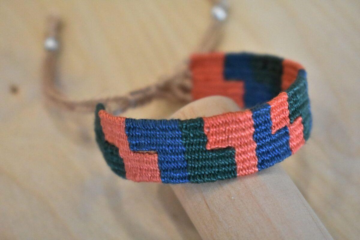 Handwoven bracelet