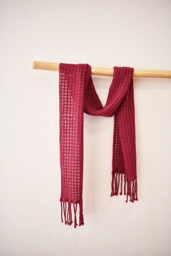 Merino woven scarf