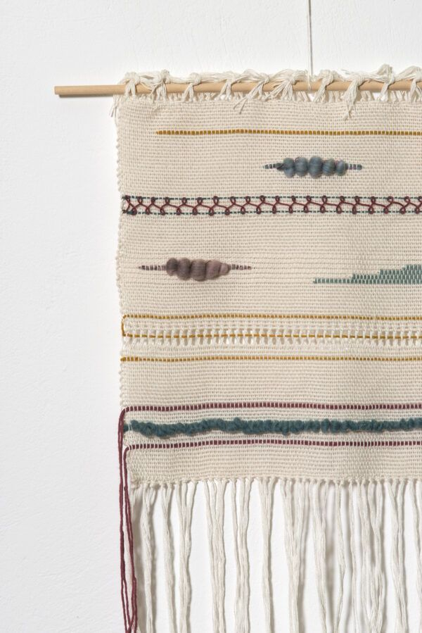 Unique woven wall art