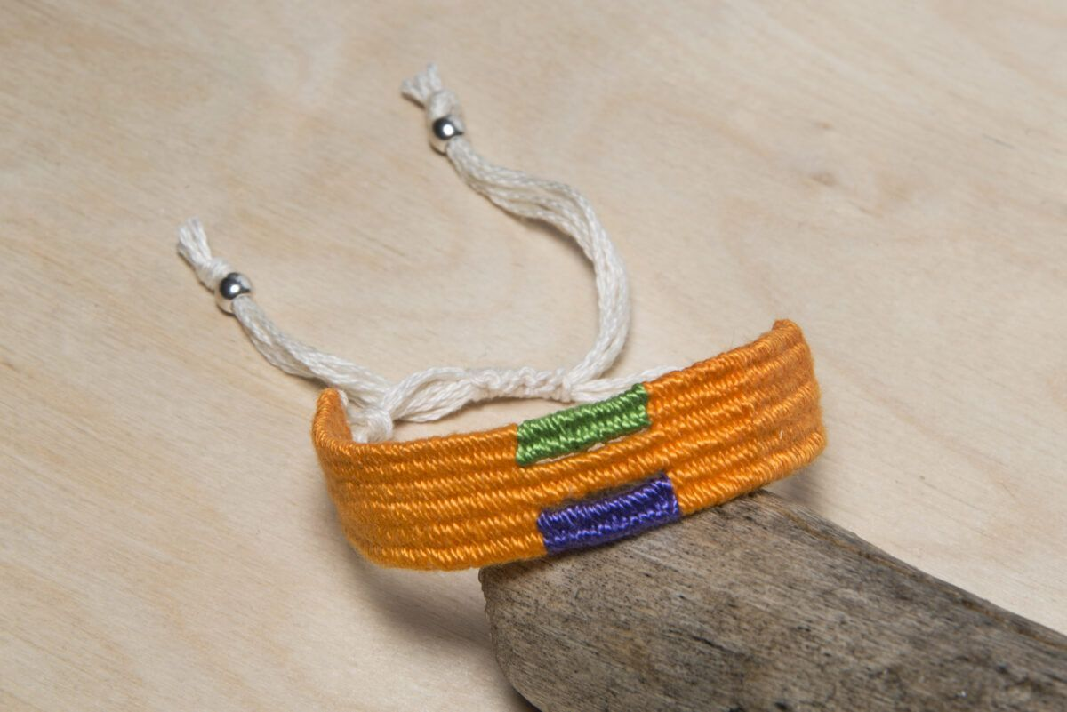 cotton woven bracelet