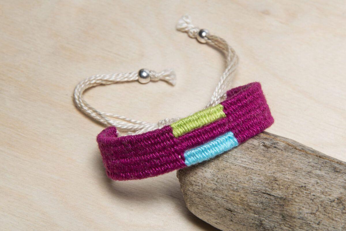 Woven handmade bracelet